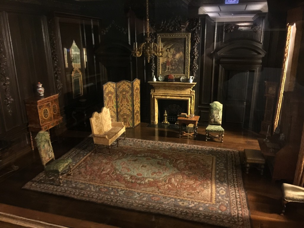 English Drawing Room of the Late Jacobean Period 1680-1702 made circa 1937