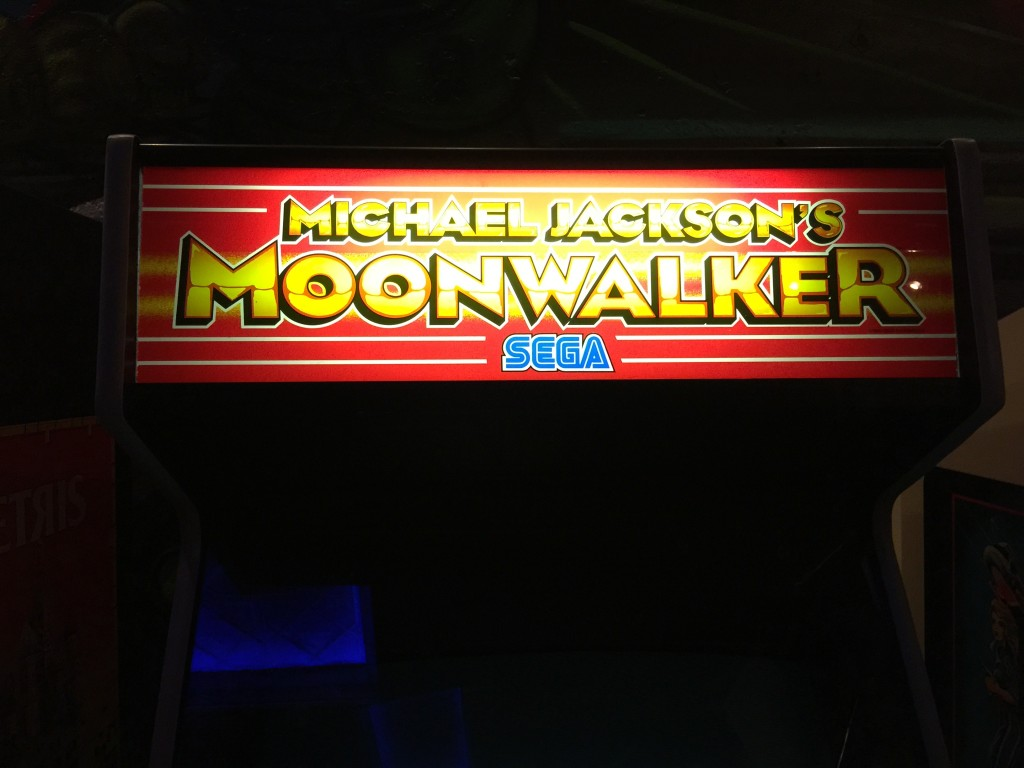 Michael Jackson Moonwalker Arcade Game