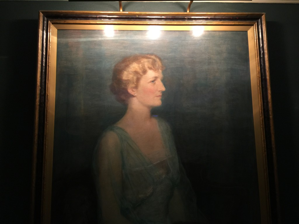 Oil Painting of Narcissa Niblack Thorne