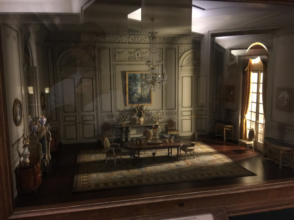 Thorne Miniature Chicago Institute of Art French Dining Room of the Periods of Louis XV and Louis XIV made circa 1937
