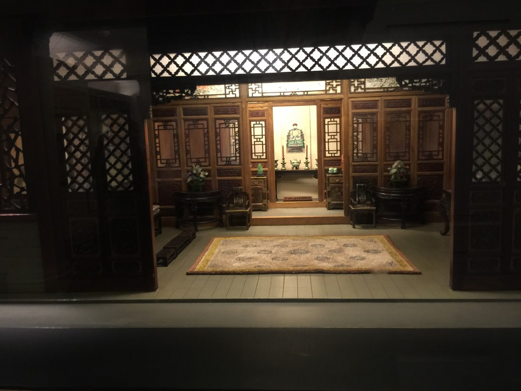 Thorne Miniature Chicago Institute of Art Traditional Chinese Interior