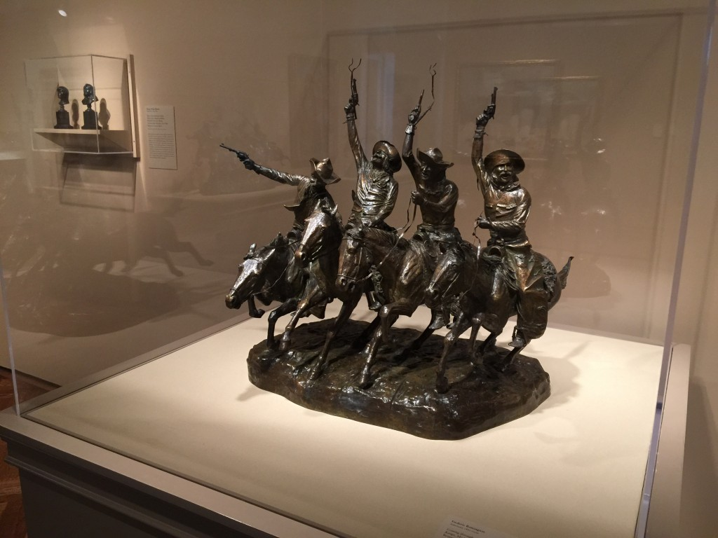 American West Bronze Art institute of Chicago