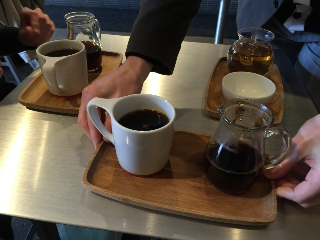Coffee and Tea at Intelligentsia Chicago