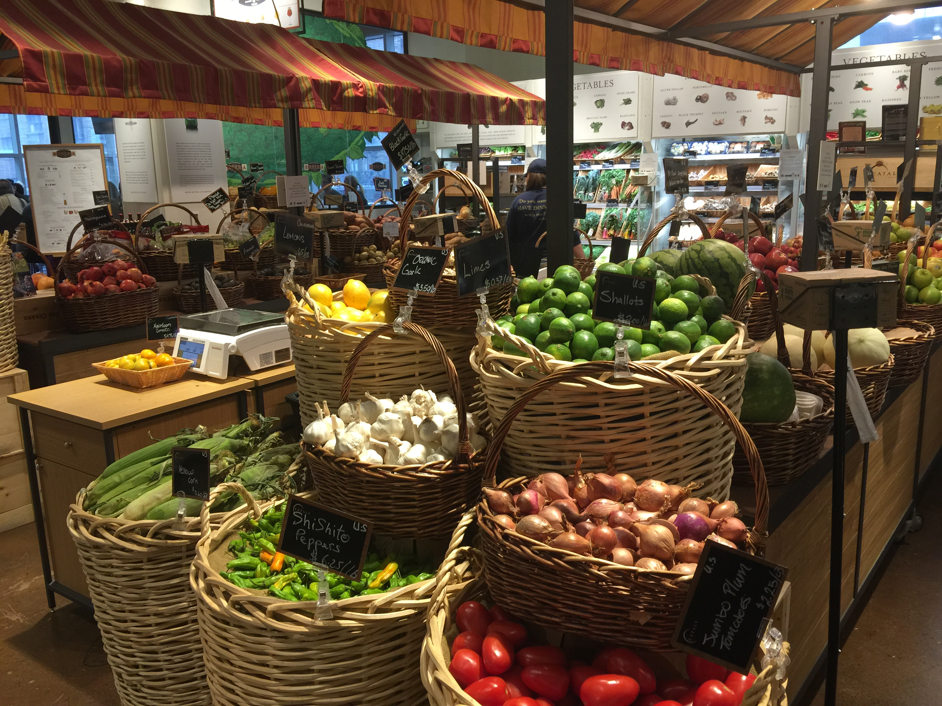 Eataly Chicago Vegetables