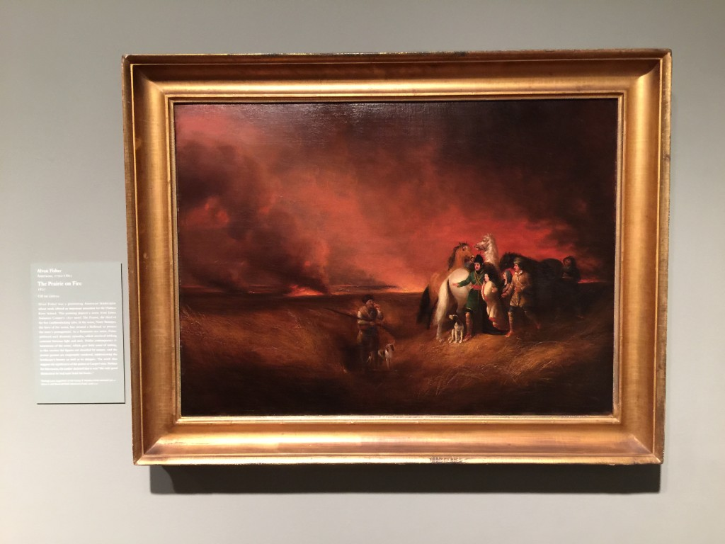 Fisher The Prarie on Fire Painting Art Institute of Chicago