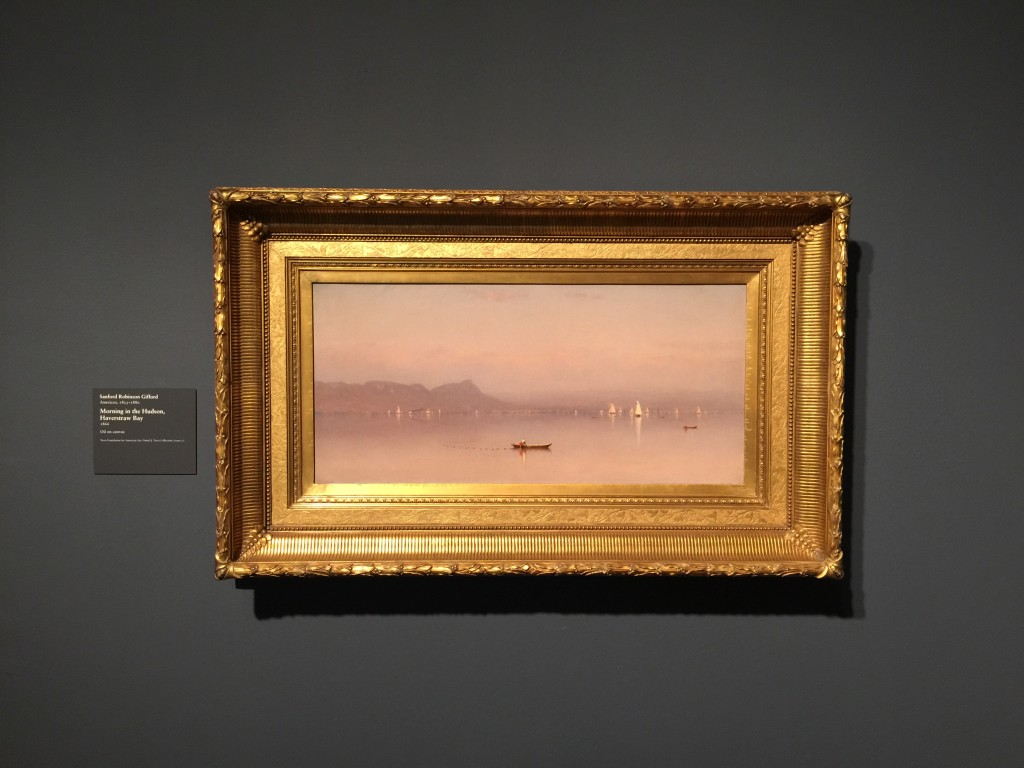 Gifford Morning in the Hudson Painting Art Institute of Chicago