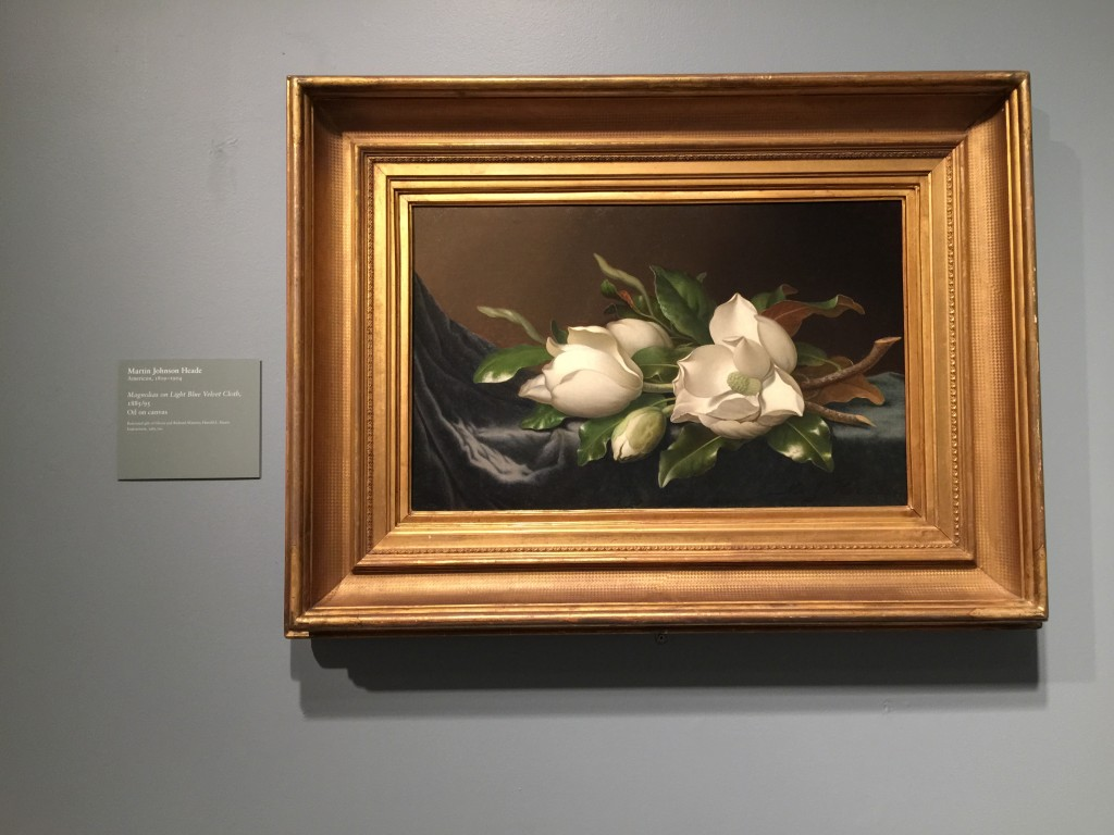 Head Magnolias Painting Art Institute of Chicago