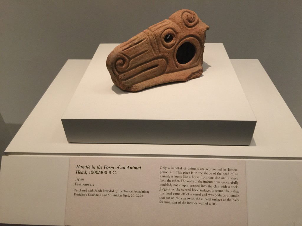 Japanese Handle in Form of Animal Head As Early as 300 BC