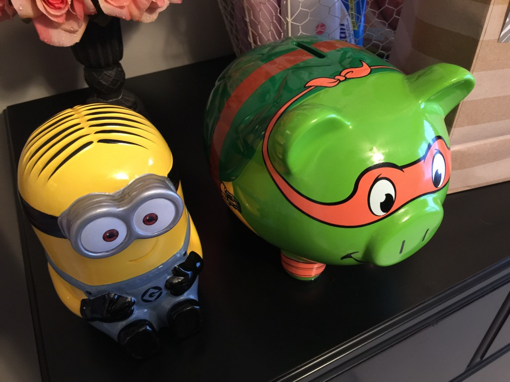 Piggy Banks for Our New Niece