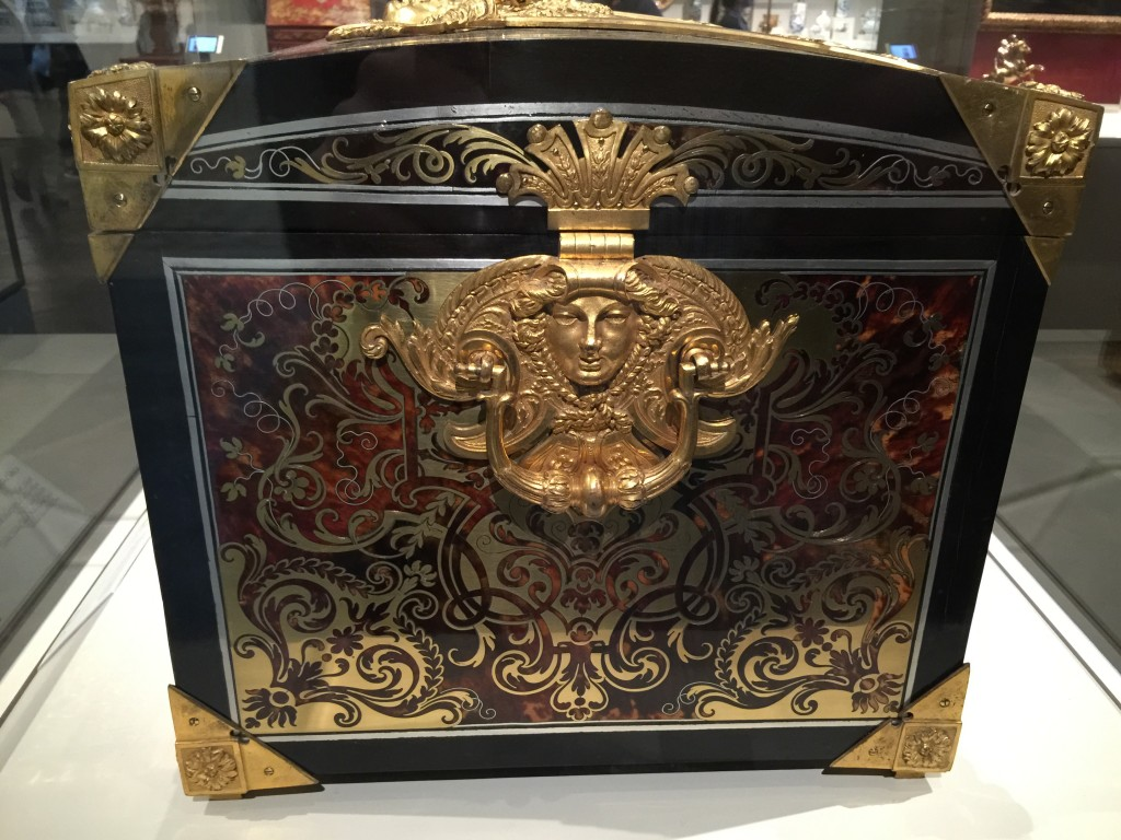 Side of the Boulle Chest Art Institute of Chicago