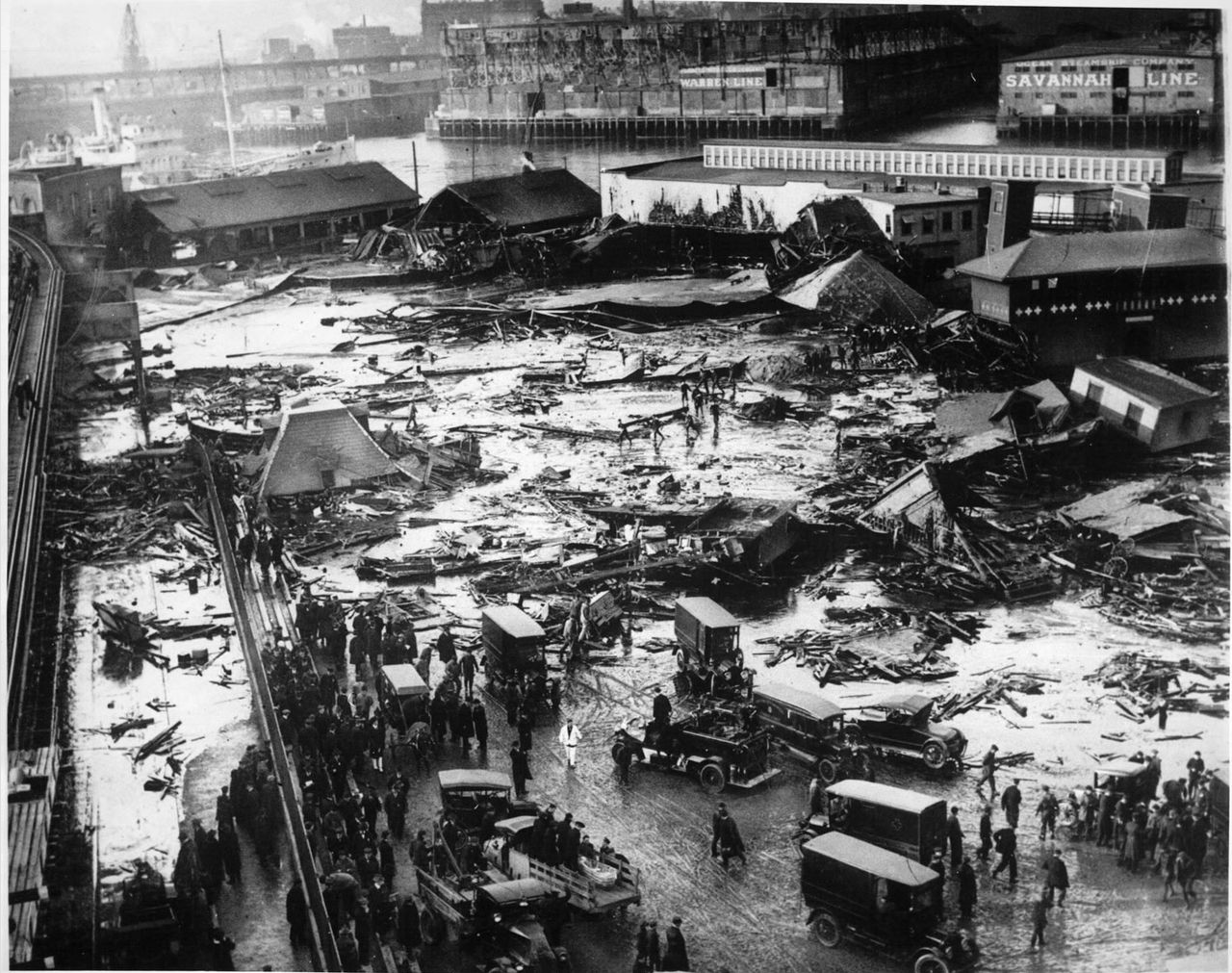 The Great Boston Molasses Flood of 1919