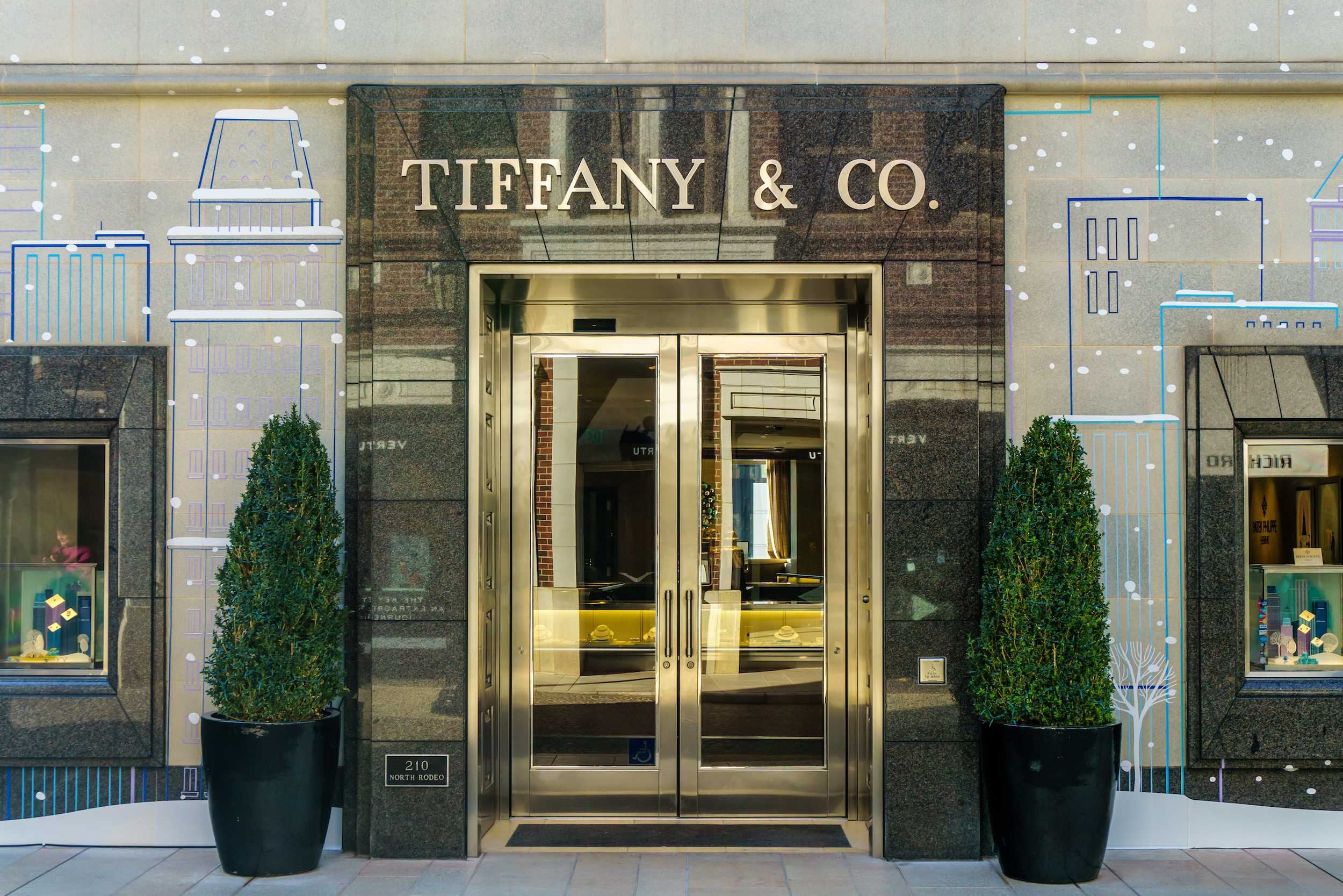 Tiffany and Company Beverly Hills