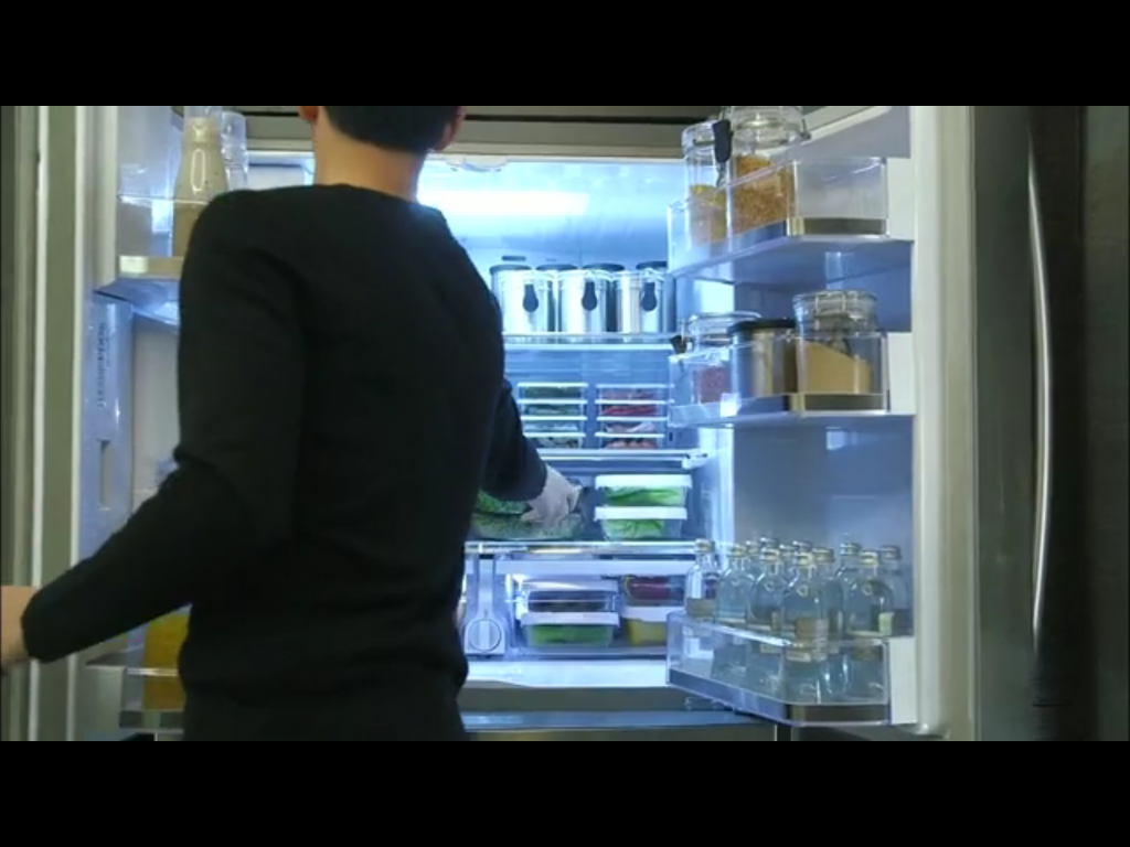 Do Min Joon's Refrigerator My Love from Another Star