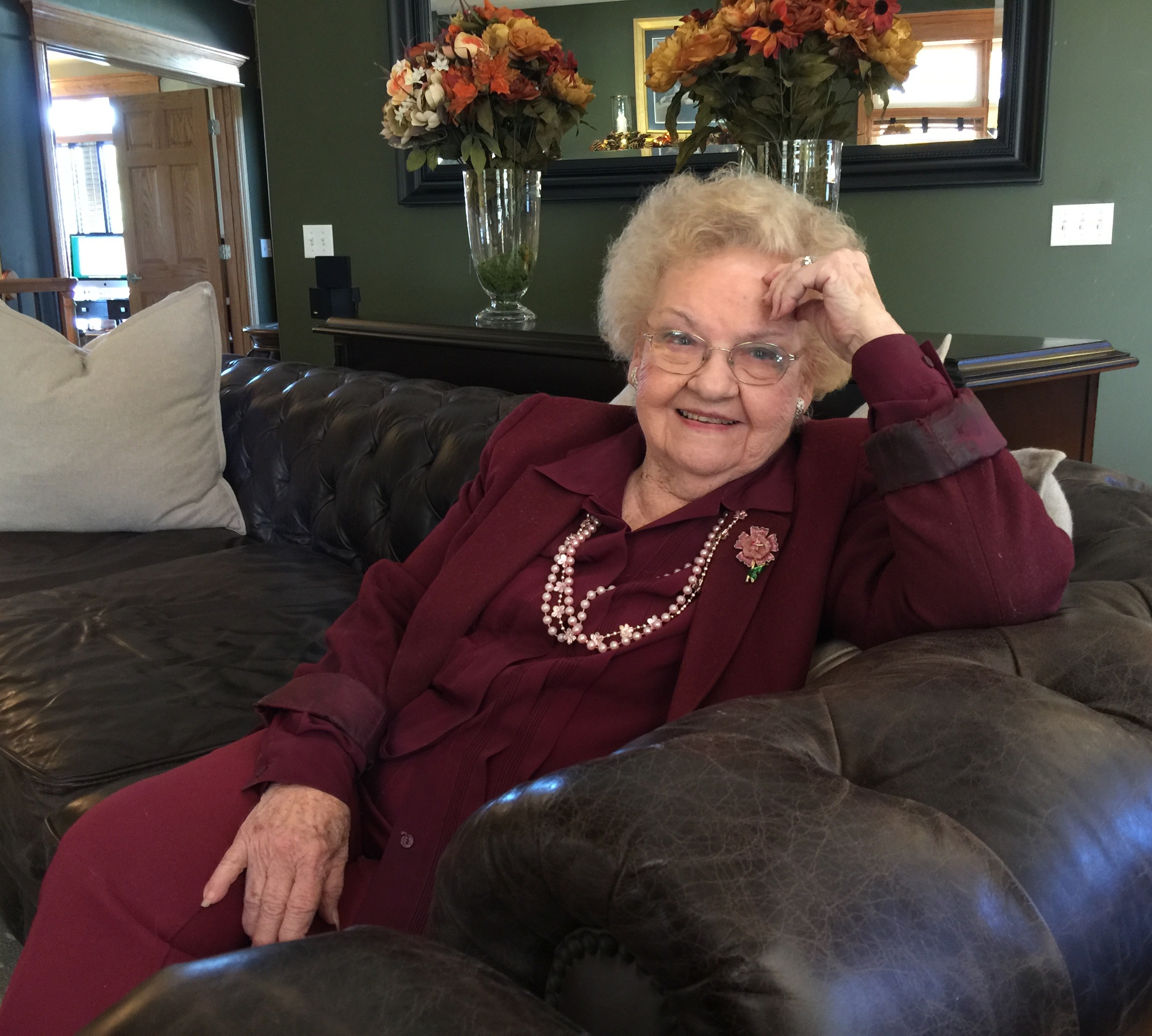 Image result for grandma on couch