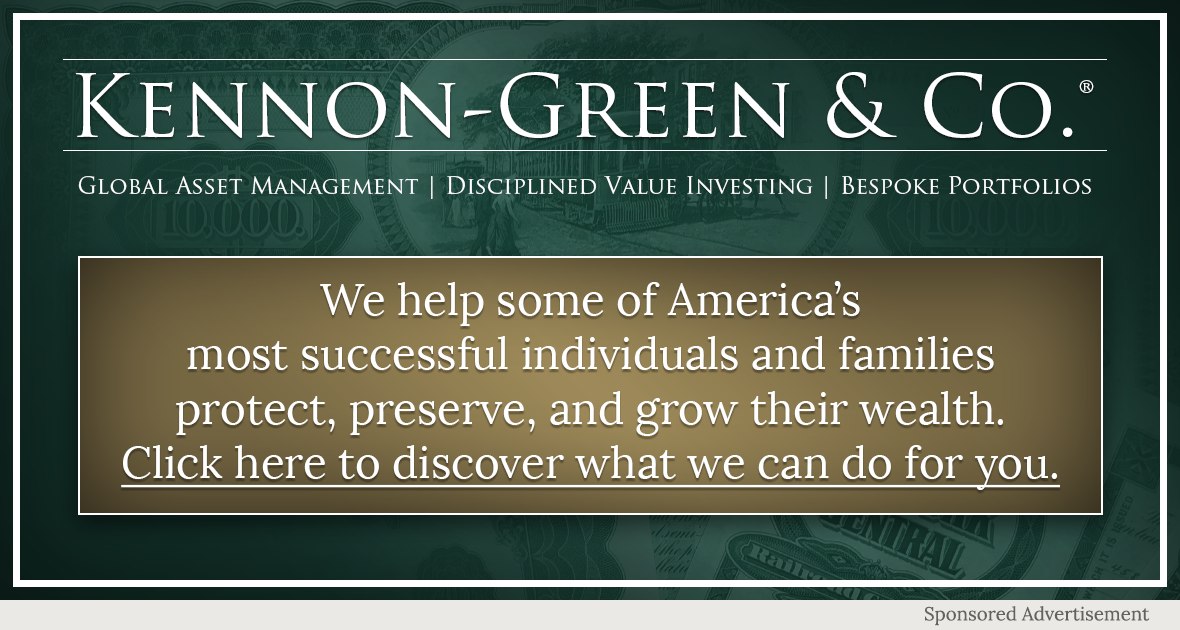 Kennon-Green & Co. - Global Asset Management - Disciplined Value Investing - Bespoke Portfolio - We help some of America's most successful individuals and families protect, preserve, and grow their wealth. Click here to discover what we can do for you.