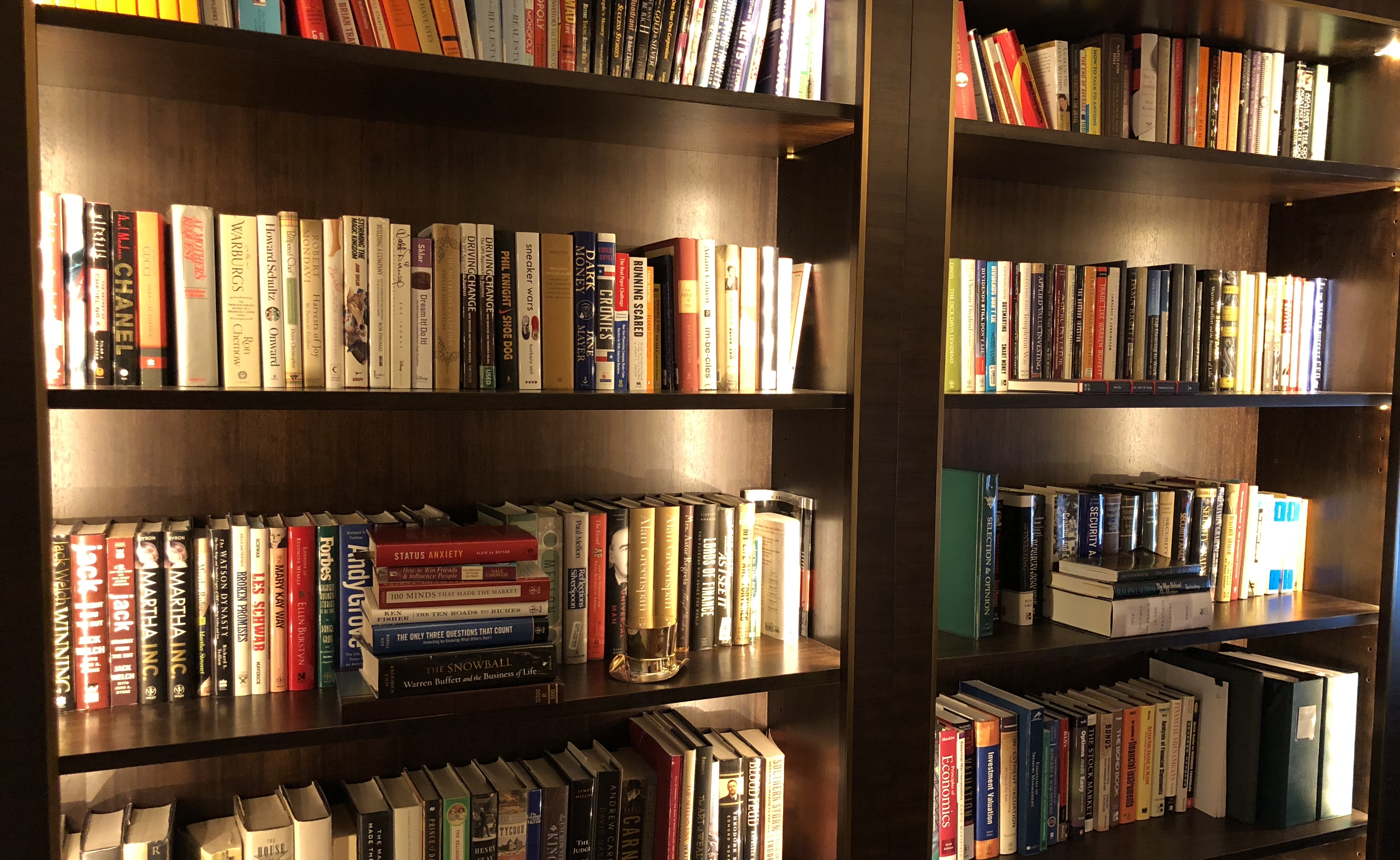 Trying to Organize Library in Newport Beach