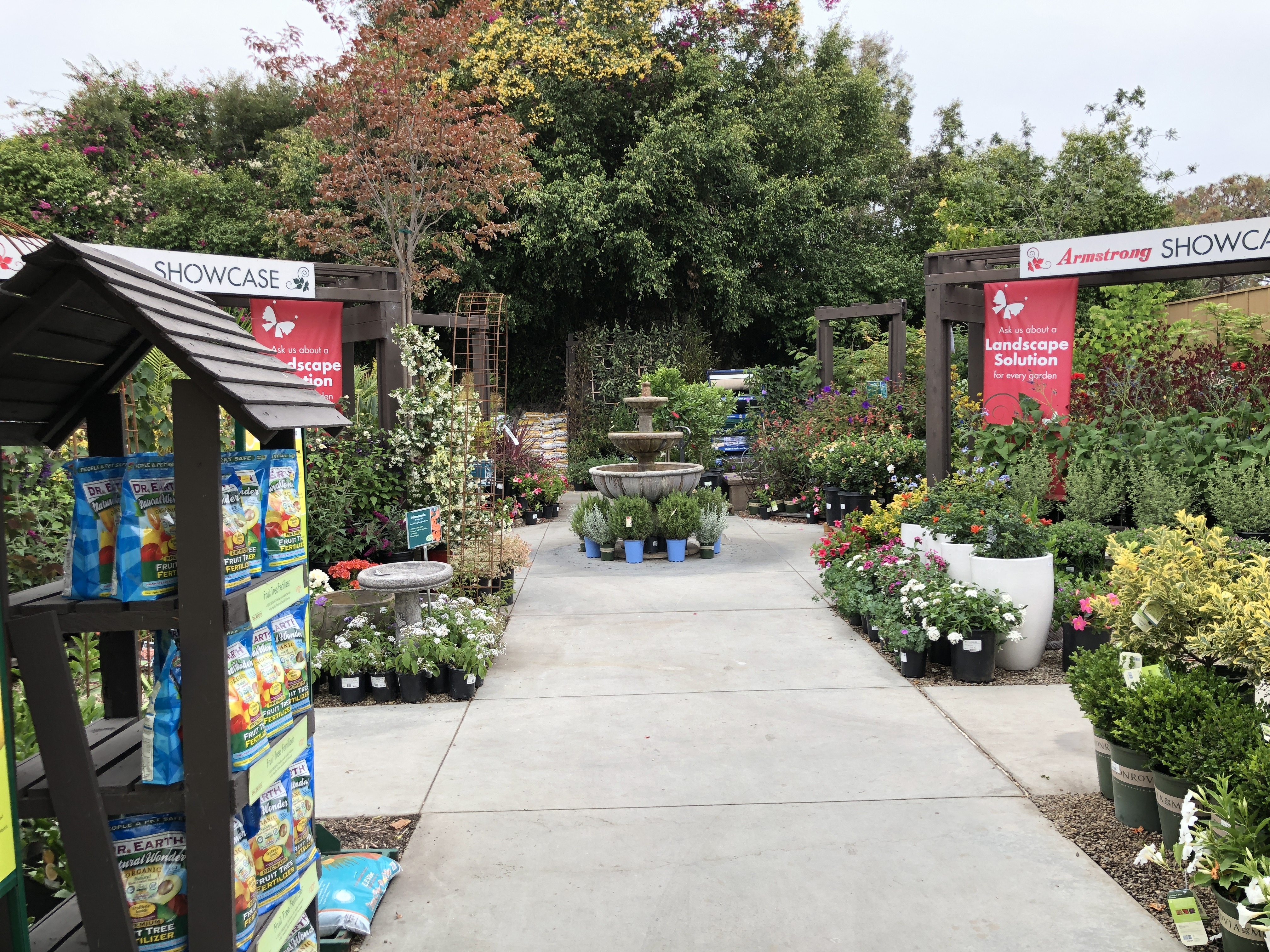 Armstrong's Garden Centers Newport Beach One of the Pathways
