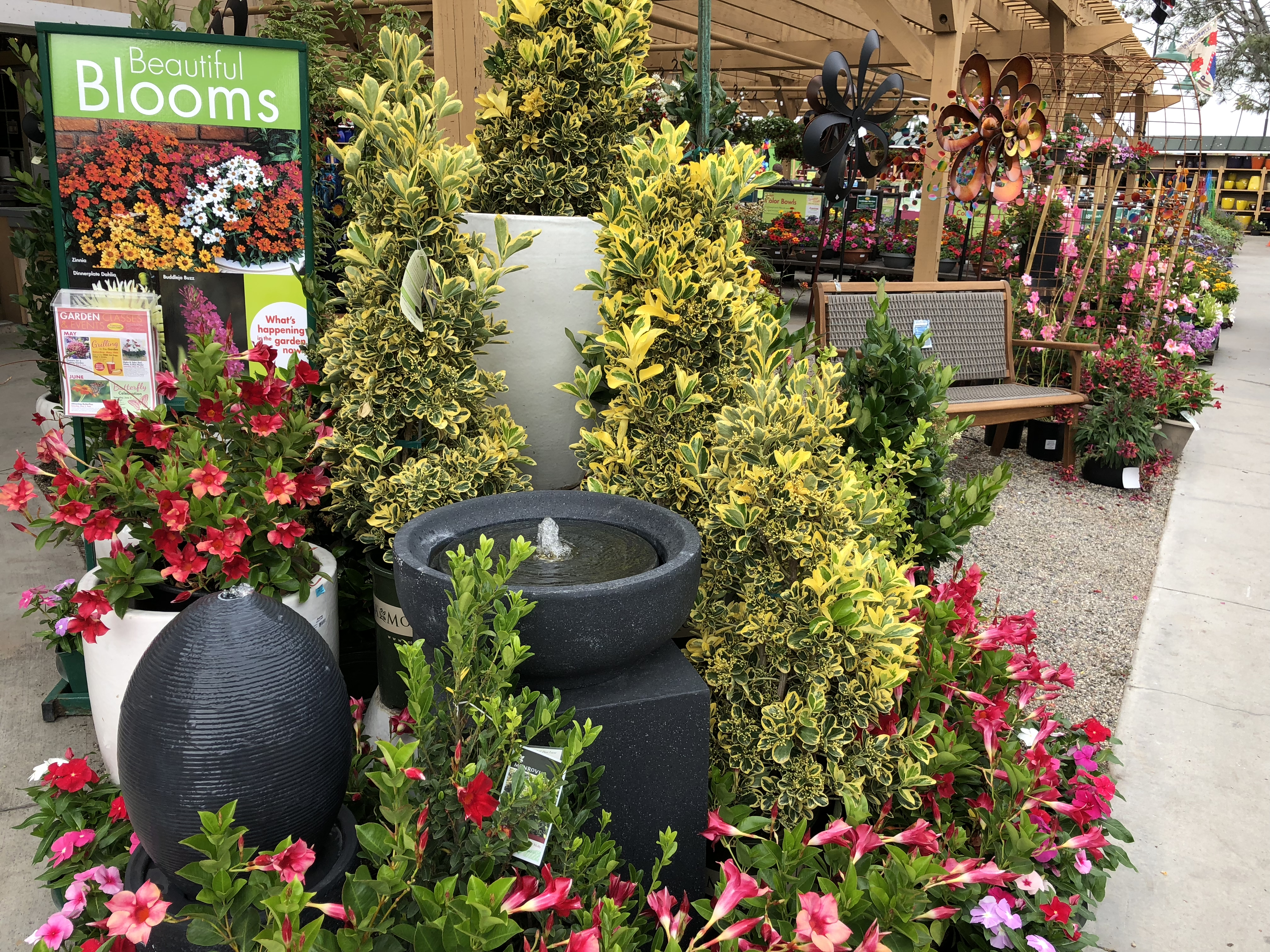 Armstrong's Garden Centers Newport Beach Water Fountain