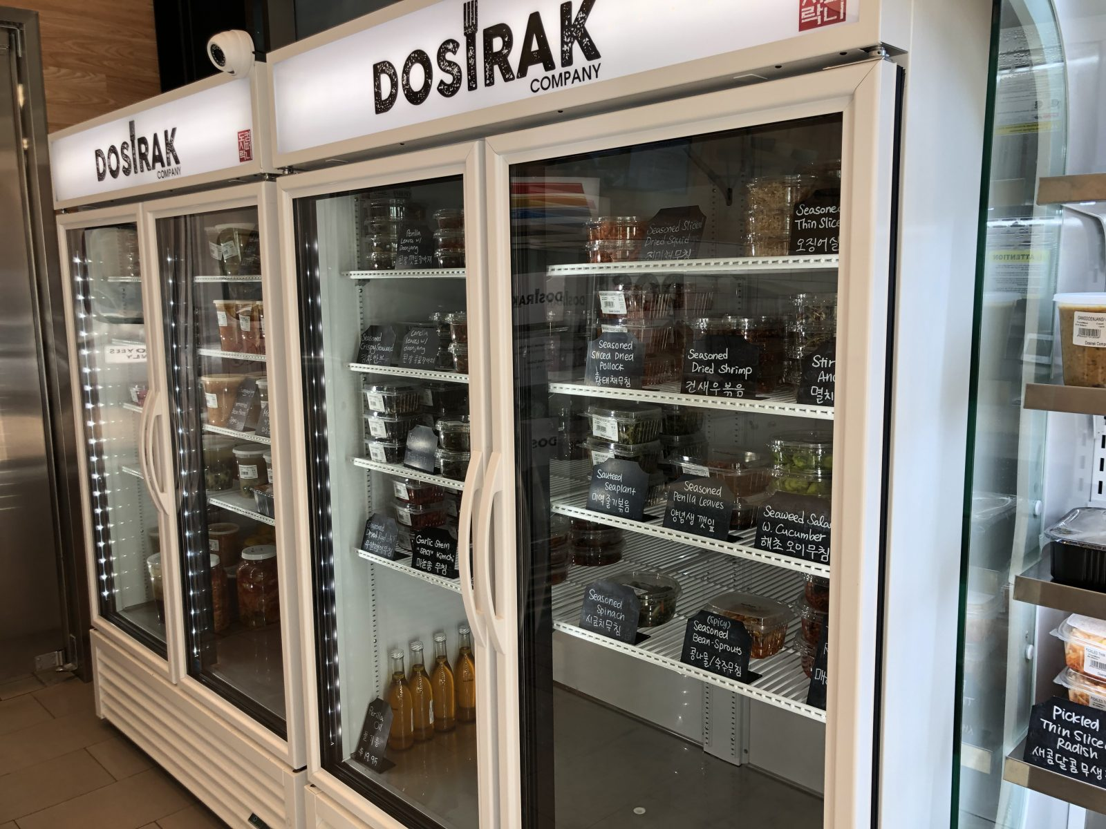 Dosirak Dishes to Go