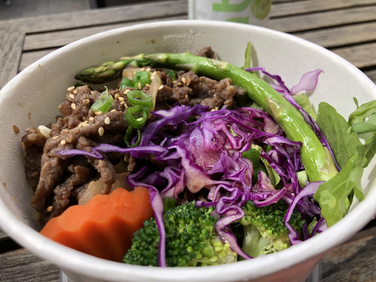 Korean Bulgogi Bowl Closeup