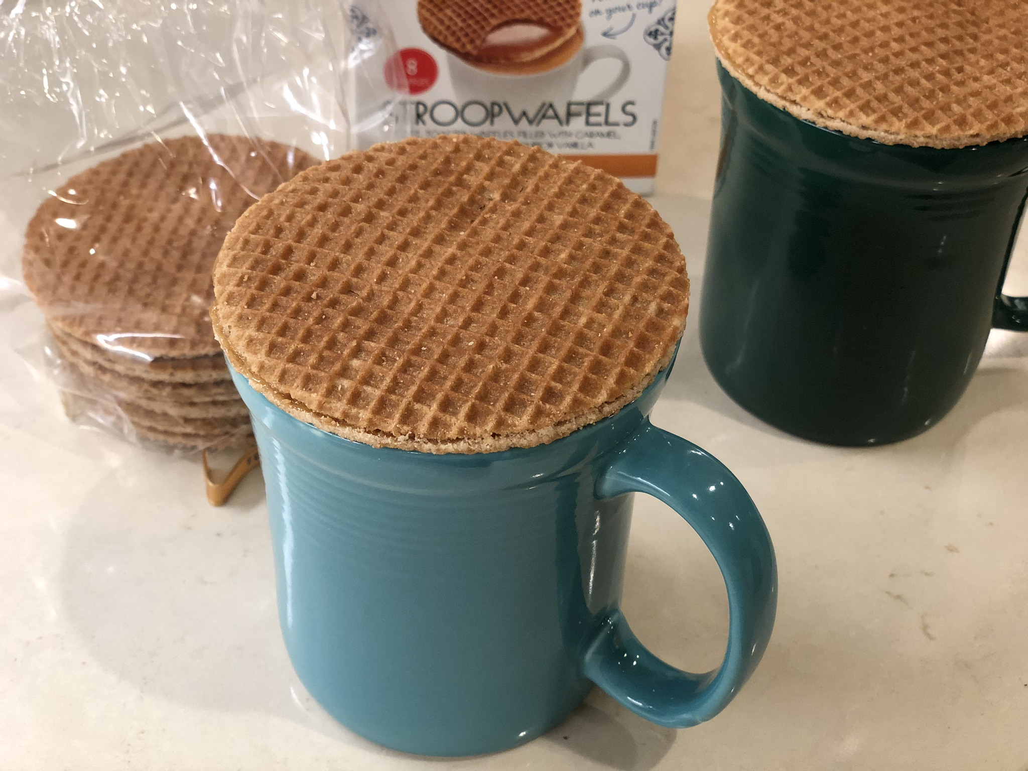 Heating Our Stroopwafels
