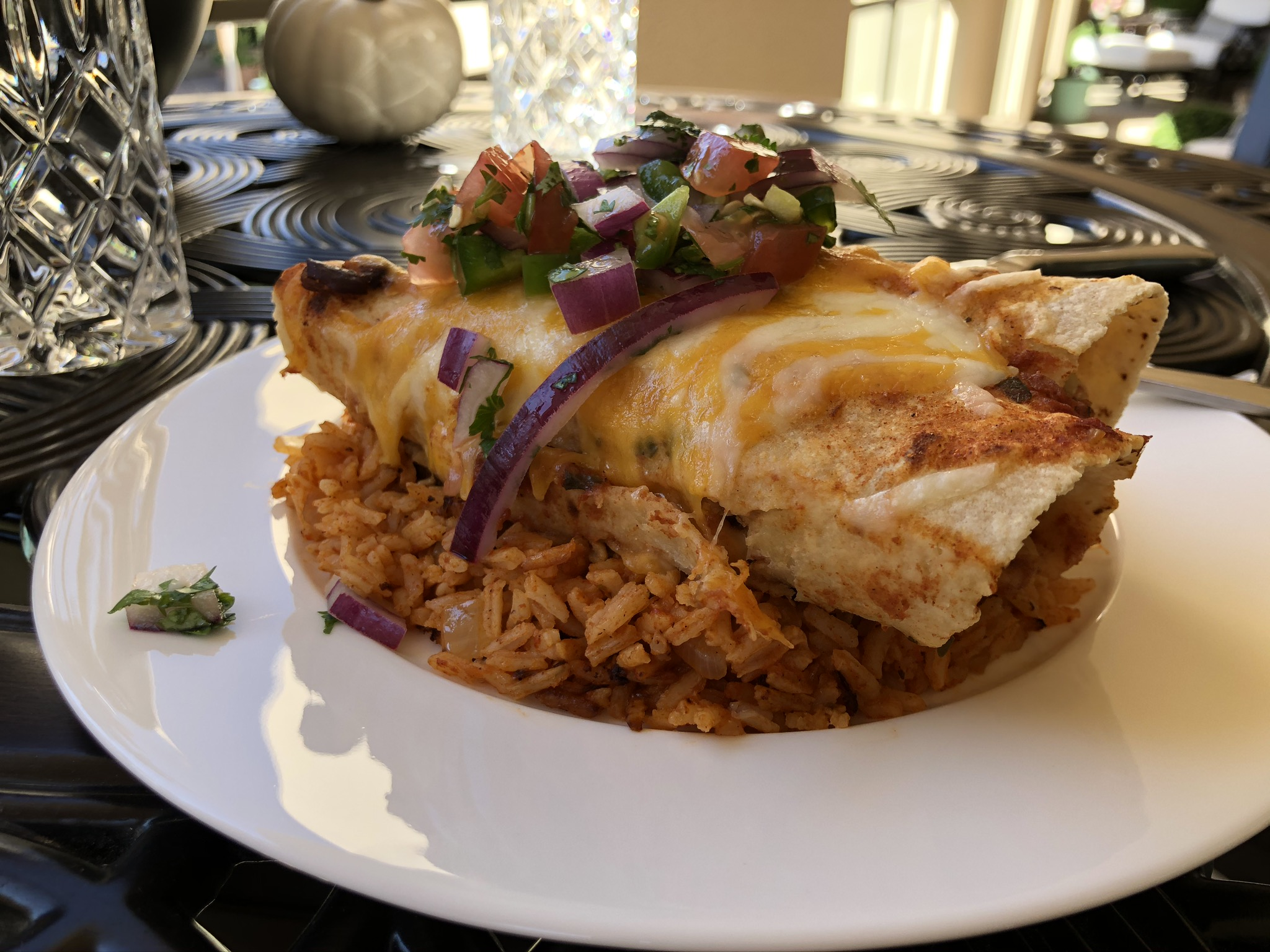 Aaron's Chicken Enchiladas