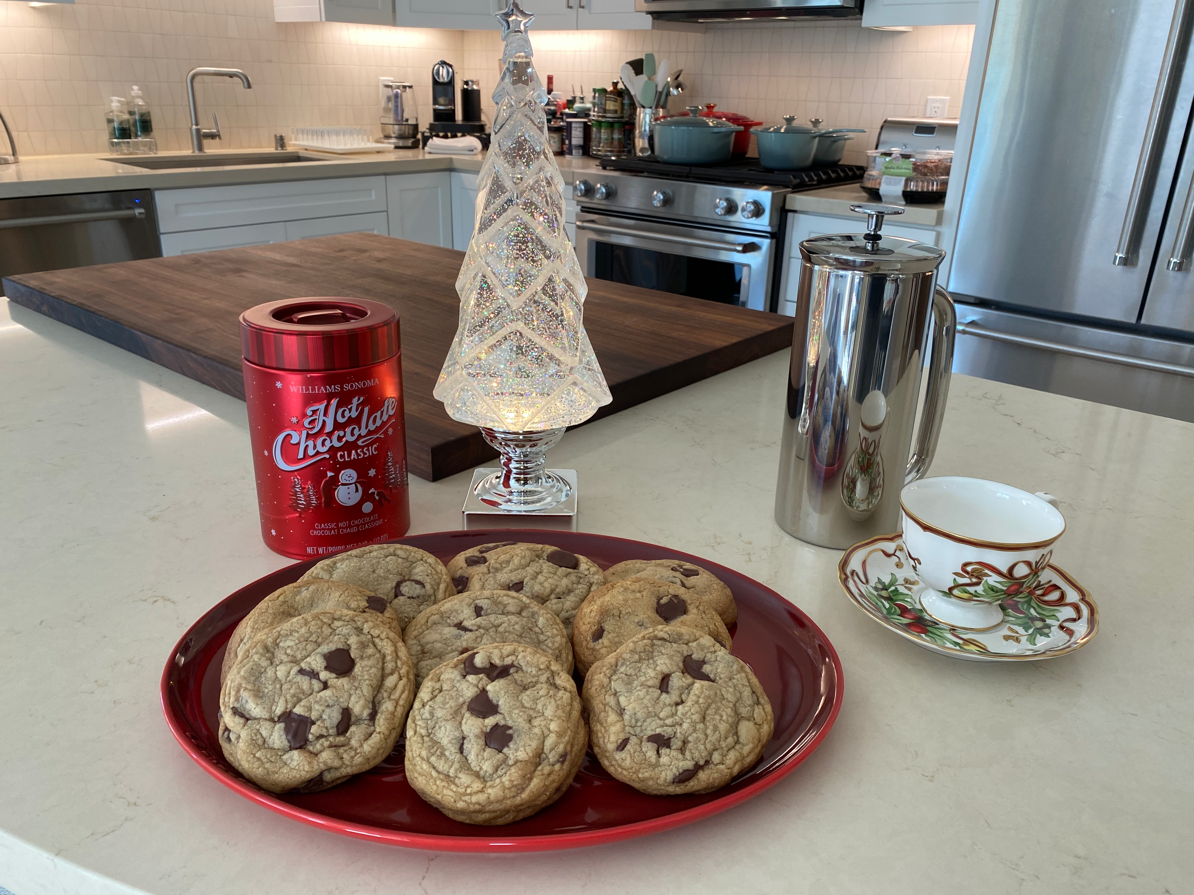 Waking Up to Aaron's Chocolate Chip Cookies with Guittard Chocolate