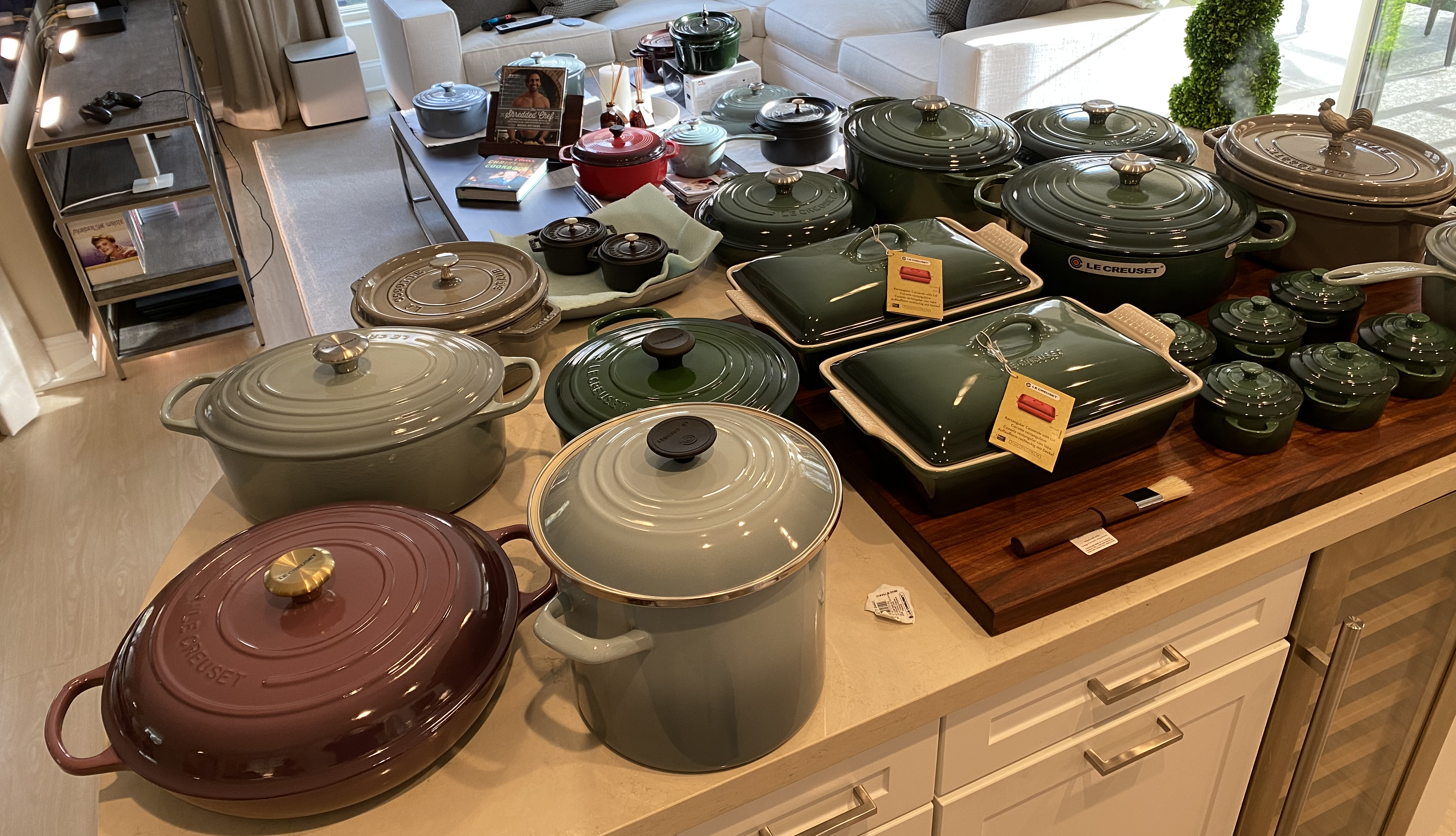 Le Creuset Inventory and Organization Project I