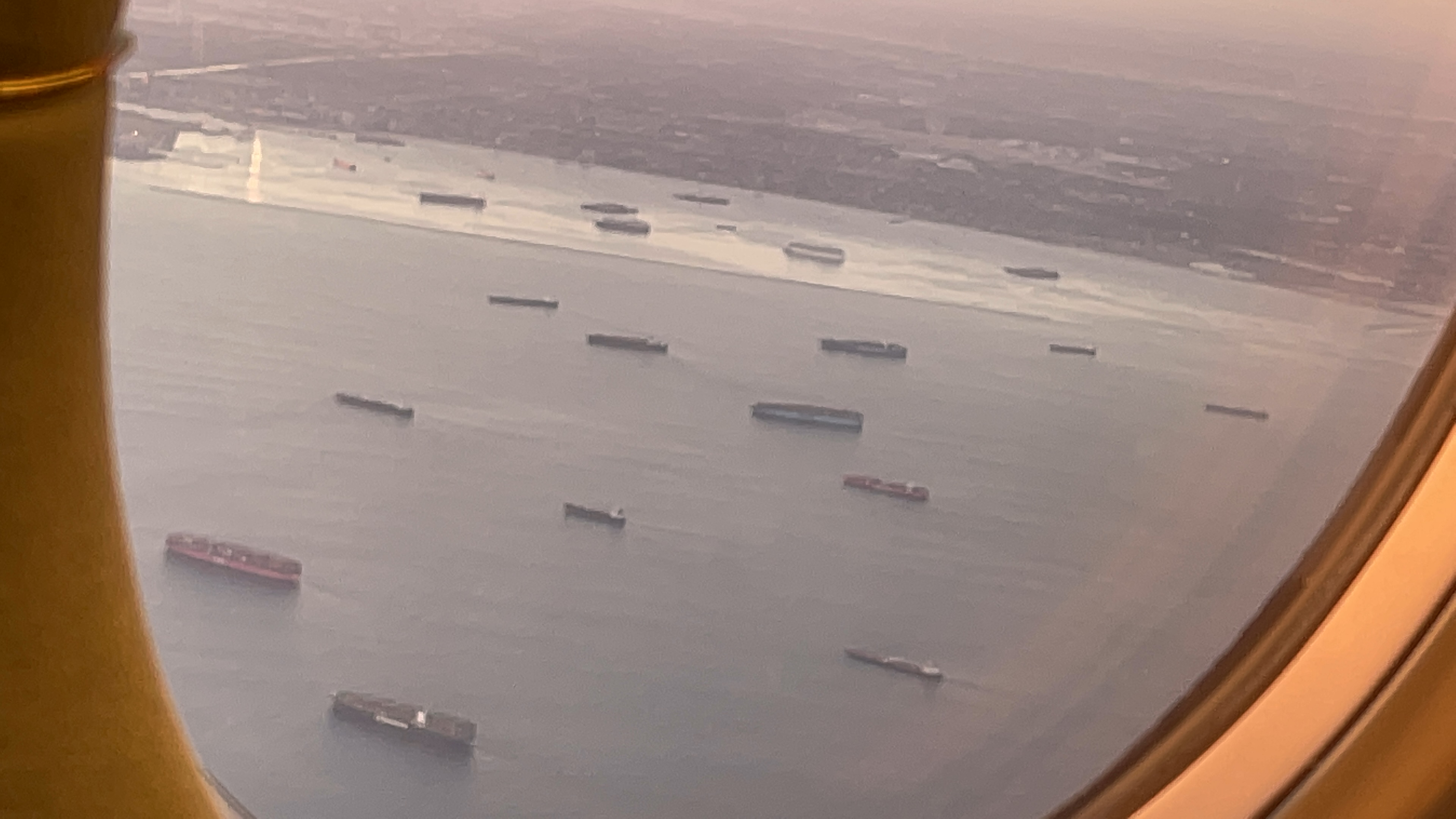 Cargo Ships Unable to Dock Outside of Los Angeles