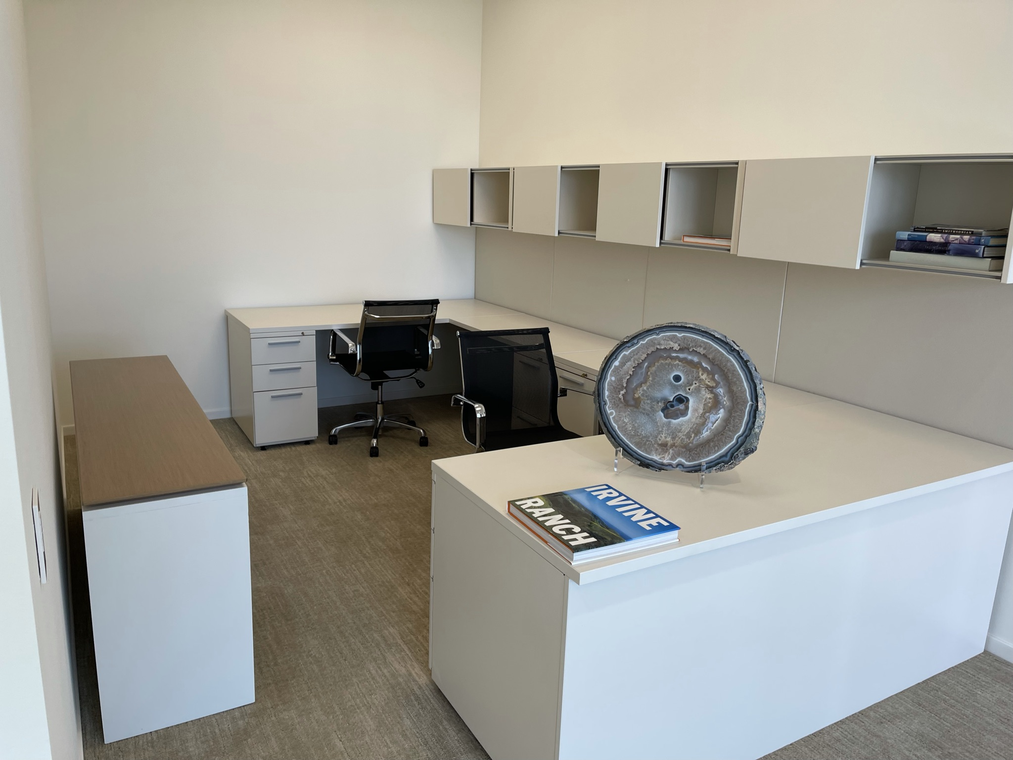 The Employee Work Area Before Renovations